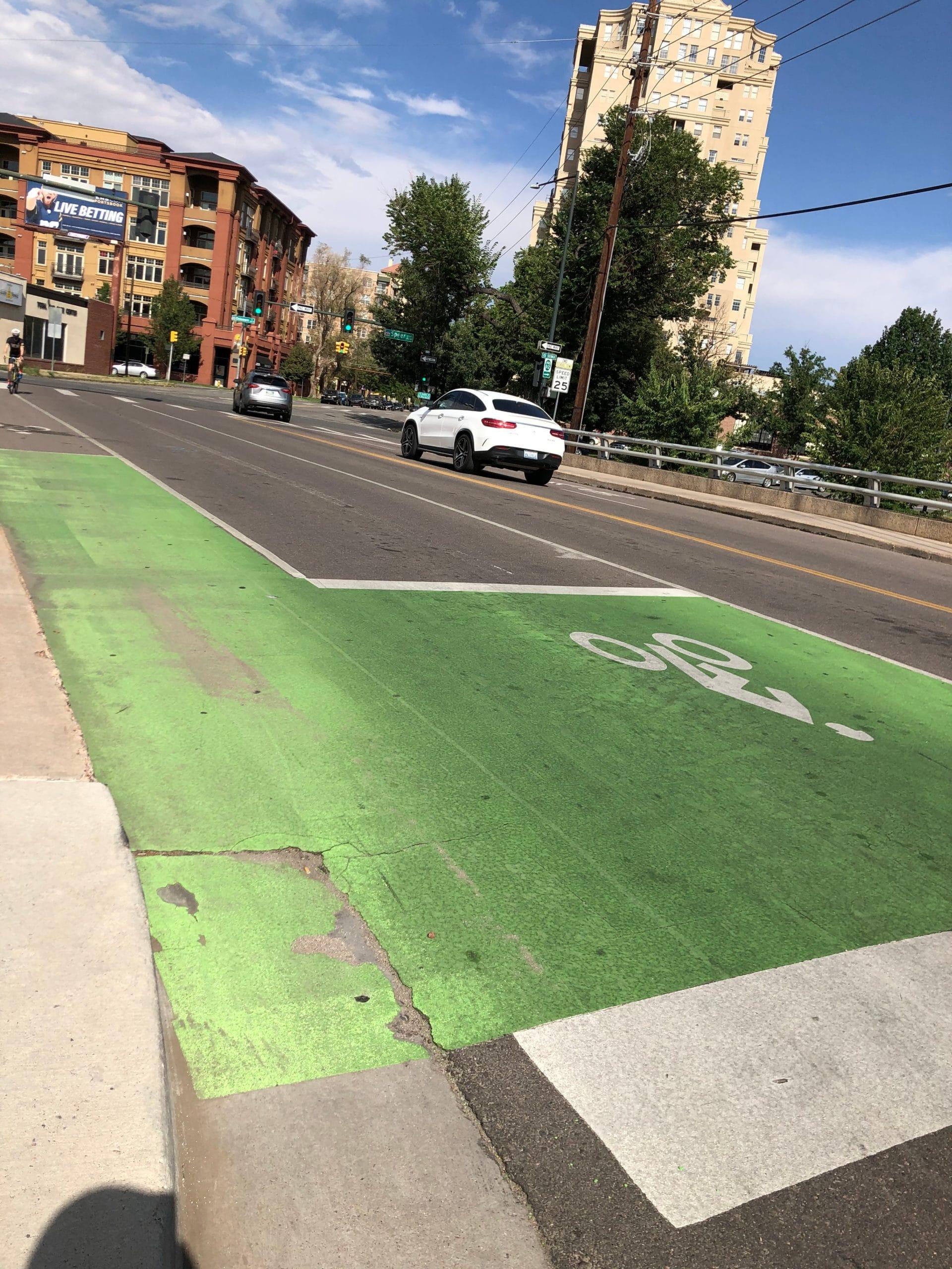 Bike Box in Denver